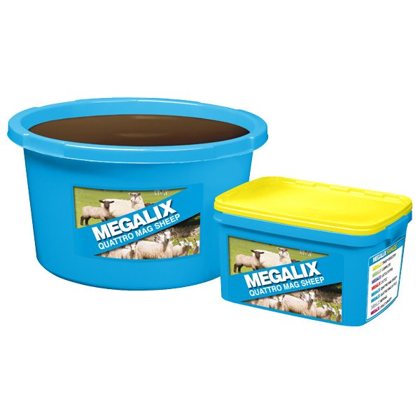 High Magnesium tub without copper for mixed grazing