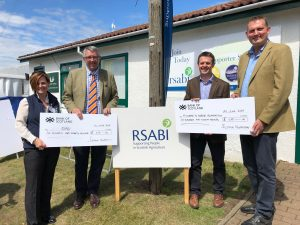 Scotmin Nutrition Cheque Presentation
